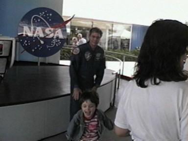 Meeting our friend the astronaut John Blaha